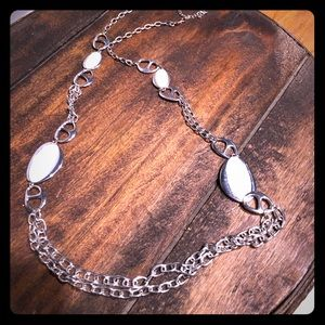 Jewelry - Vintage reversible long necklace